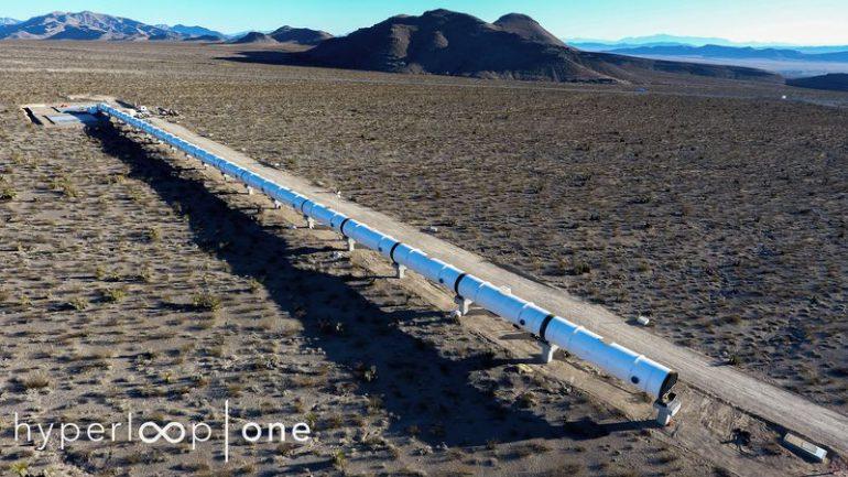 Швидкісний поїзд Hyperloop розігнали до310 кілометрів нагодину